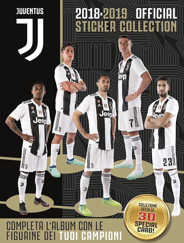 N.J18 KEAN FIGURINA STICKER NEW JUVENTUS FC 2018 19 EUROPUBLISHING