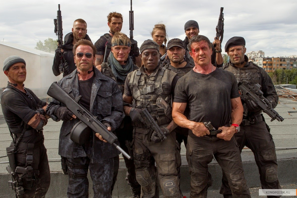 Ver online a The Expendables 3 - Official Trailer #2 [FULL HD]