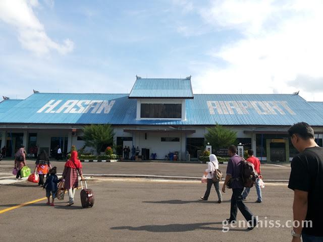 H. Asan airport, Sampit, Kalteng