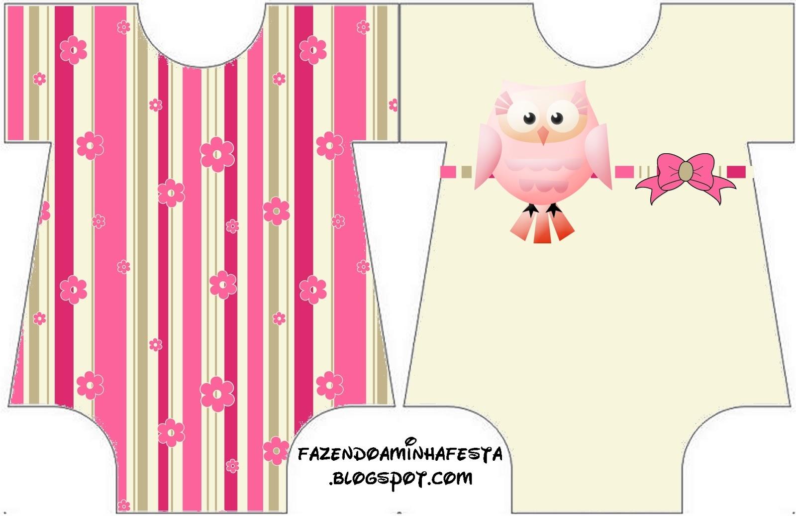 Invitaciones De BUHO Para Baby Shower