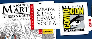 cadastrar na promoção Saraiva e Leya levam você a San Diego