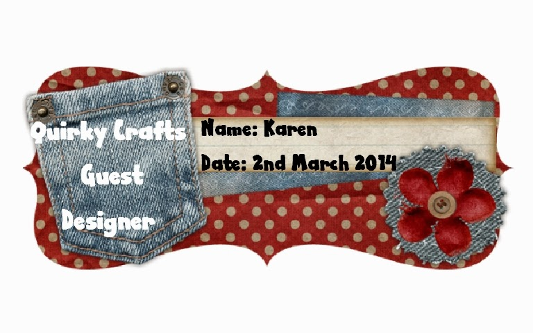 Quirky Crafts Guest Designer