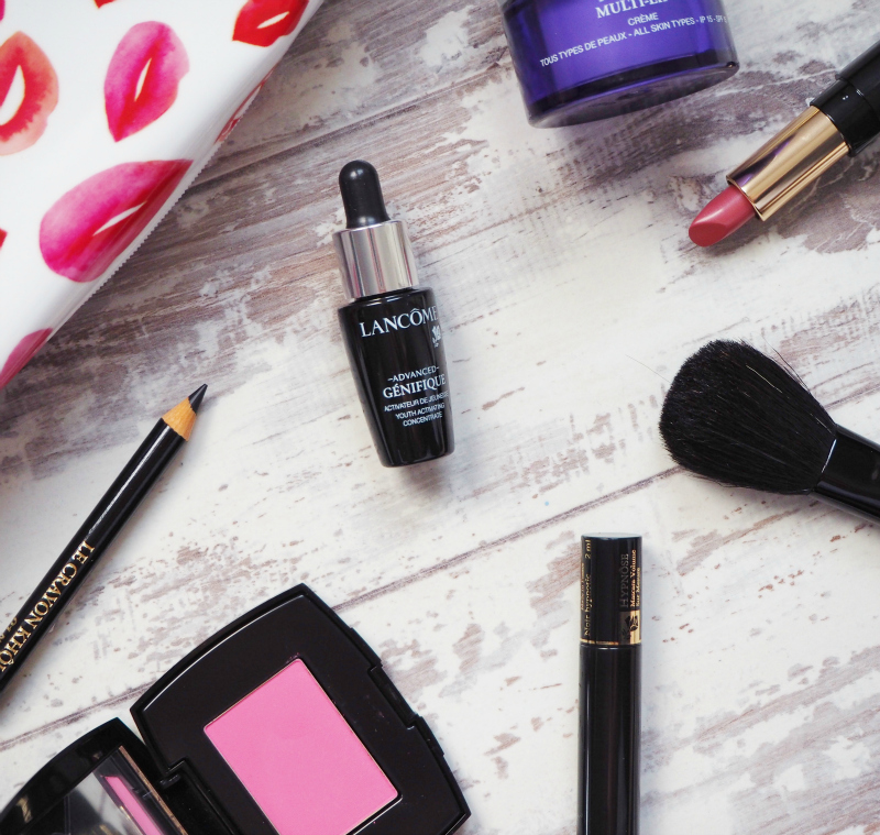 Lancome Debenhams gift with purchase October 2015