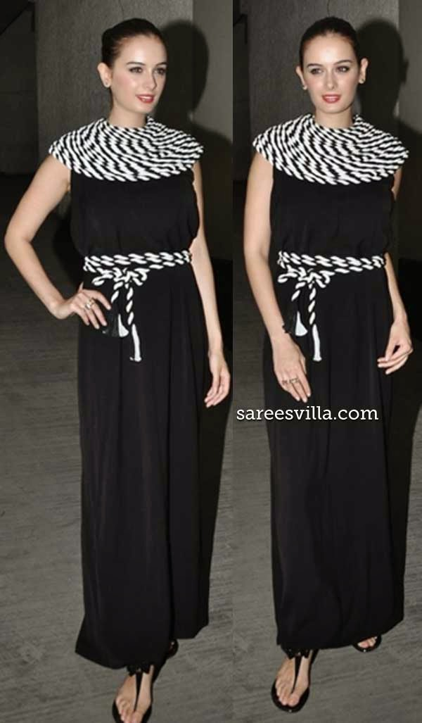 Evelyn Sharma In Urvashi Joneja
