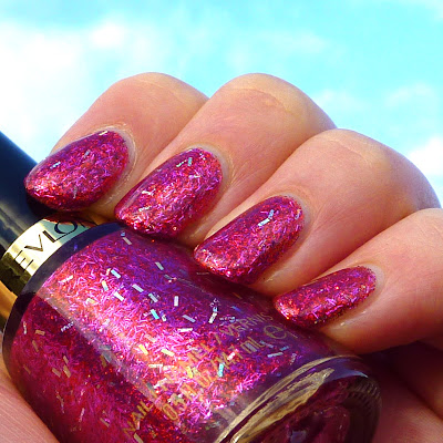 Revlon Ruby Ribbon Nail Polish Swatch
