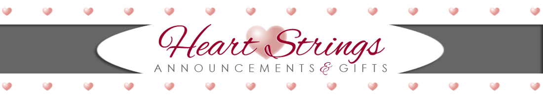 Heart Strings Announcements & Gifts