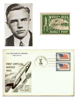 retrovision:  air mail or rocket post