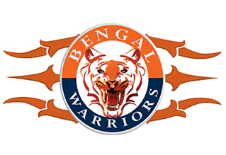 Bengal Warriors logo pkl