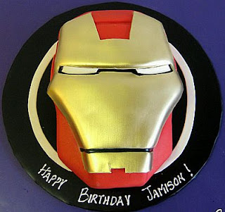Tortas Iron Man, parte 1