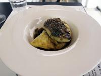 Esquina - veal sweetbread and foie gras empanada
