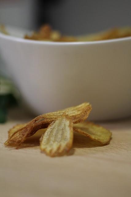 Patatas chips - El dulce mundo de Nerea