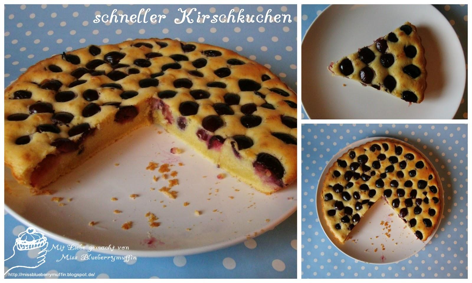 miss blueberrymuffin 39 s kitchen schneller kirschkuchen. Black Bedroom Furniture Sets. Home Design Ideas