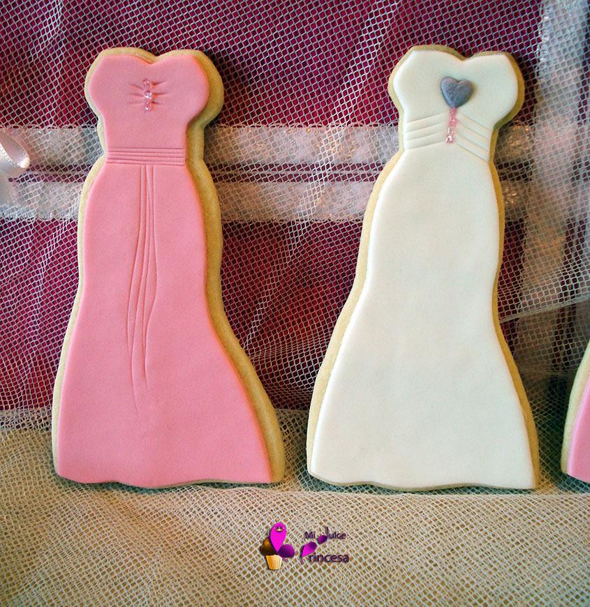 fondant, galletas, galletas de vestidos, galletas de zapatos, galletas de zapatos de tacón, galletas decoradas, galletas fondant,