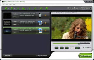 iSkysoft Video Converter Ultimate 4.0.0.1 a combination of Video Converter, DVD Ripper, DVD Burner, DRM Removal, Online Video Downloader/Recorder and File Transfer