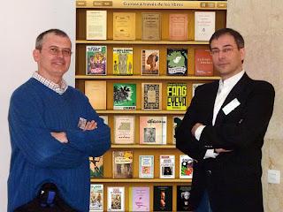 Exposición Guinea a través de los libros, José Ramón Trujillo
