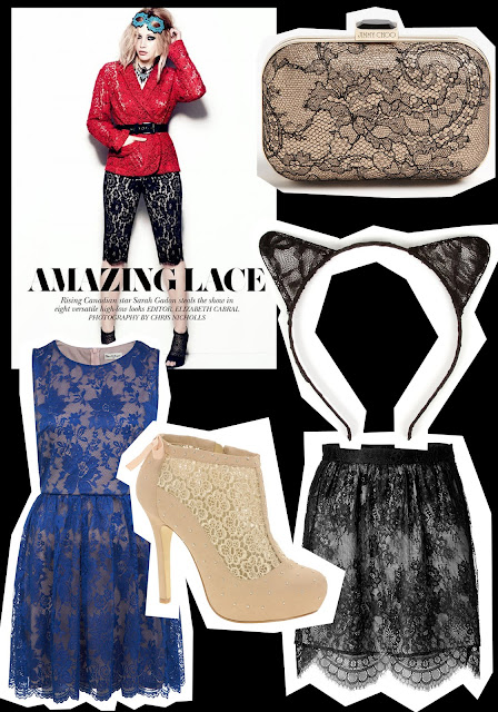 Talking Trends featuring Lace