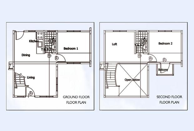 Philippine model houses floor plans