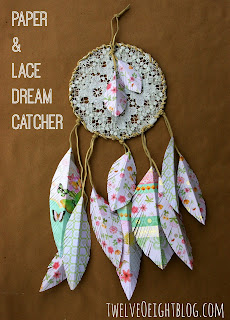 Paper + Lace Dream Catcher
