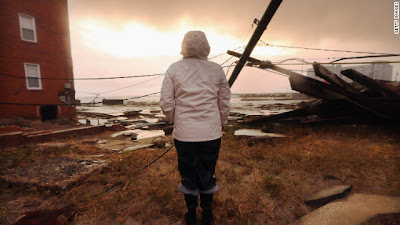 Sandy's aftermath: 33 dead, millions without power