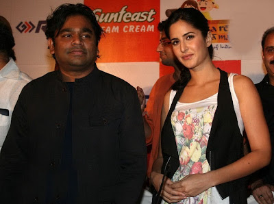 Katrina Kaif and A.R. Rahman at Rhyme School Album Launch
