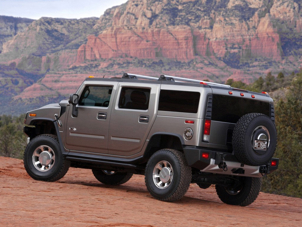 Auto Show 2714 Hummer H2