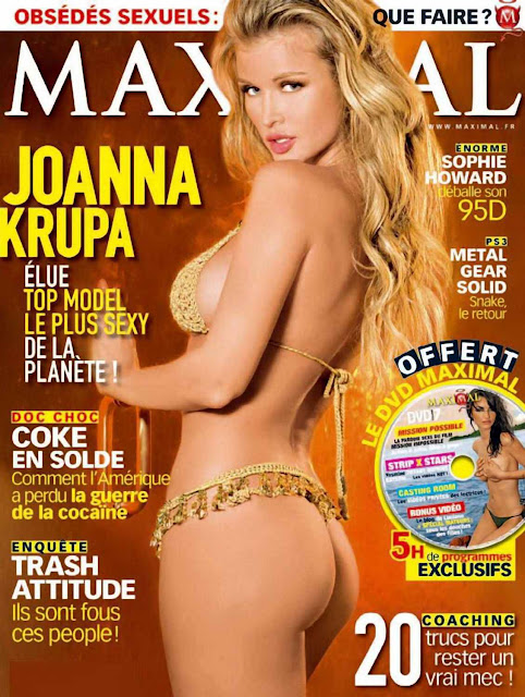 Joanna Krupa Sexy on Maxim Magazine