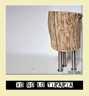 http://www.yonolotiraria.com/2014/11/mi-nuevo-taburete-aprovechando-un-tronco.html