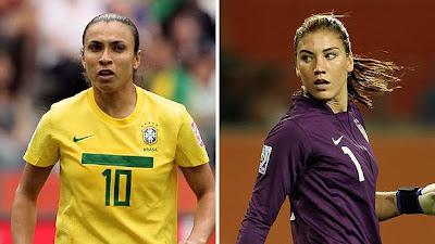 `Top 5´ las mejores futbolistas del mundo
