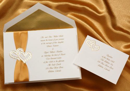 Invitaciones para bodas de oro