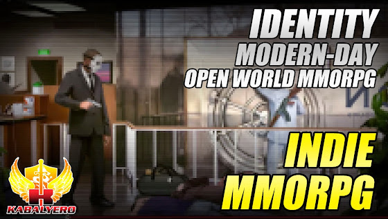 Indie MMORPG, Identity - A Modern Day Open World MMORPG