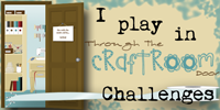 I play at Through The Craft Room Door Challenges