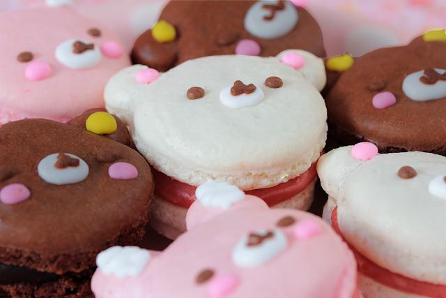 ... : Galletas decoradas, cupcakes y cakepops: Macarons Kawaii