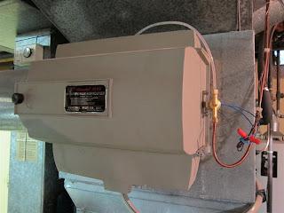 Furnace Humidifier, broken, fix, repair