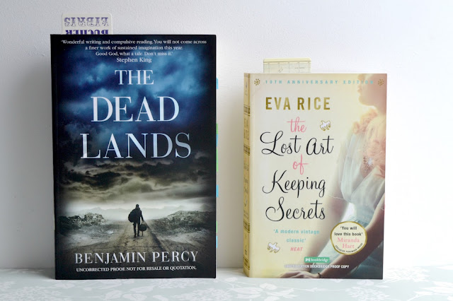 Picture of The Dead Lands by Benjamin Percy and The Lost Art of Keeping Secrets by Eva Rice