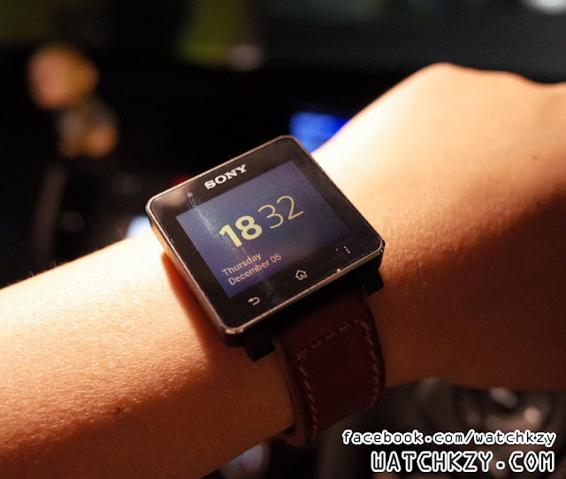 Sony SmartWatch 2 New Firmware - 5 Dec 2013