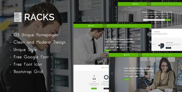 download Racks | Wordpress Hosting + WHMCS Theme