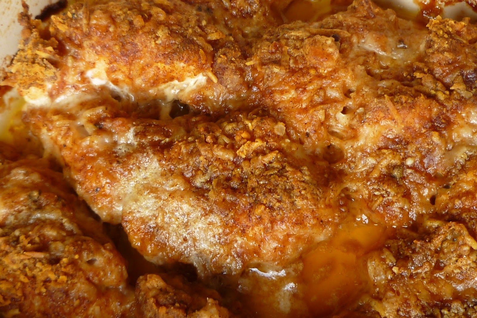 The Pastry Chef's Baking: Baked Parmesan Paprika Chicken
