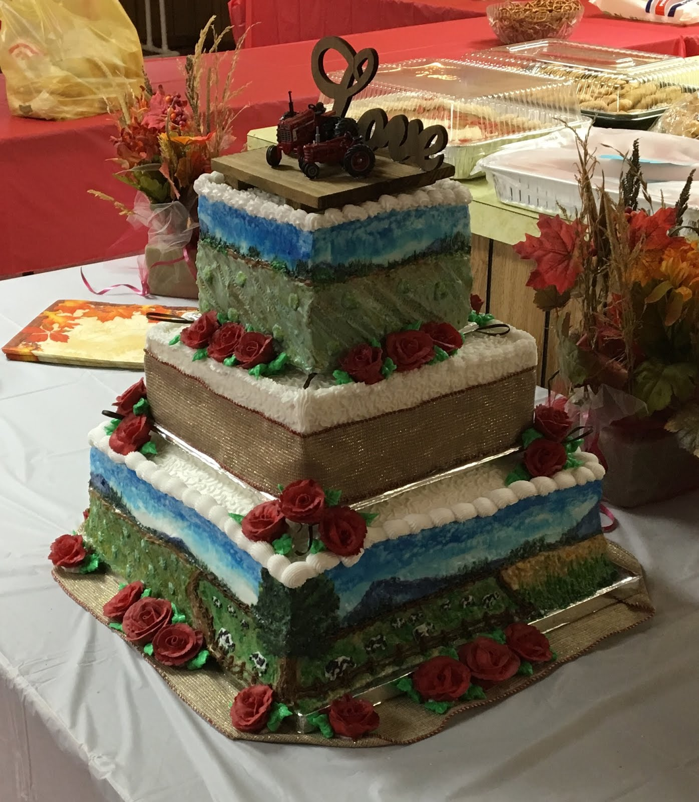 Worthington wedding cake