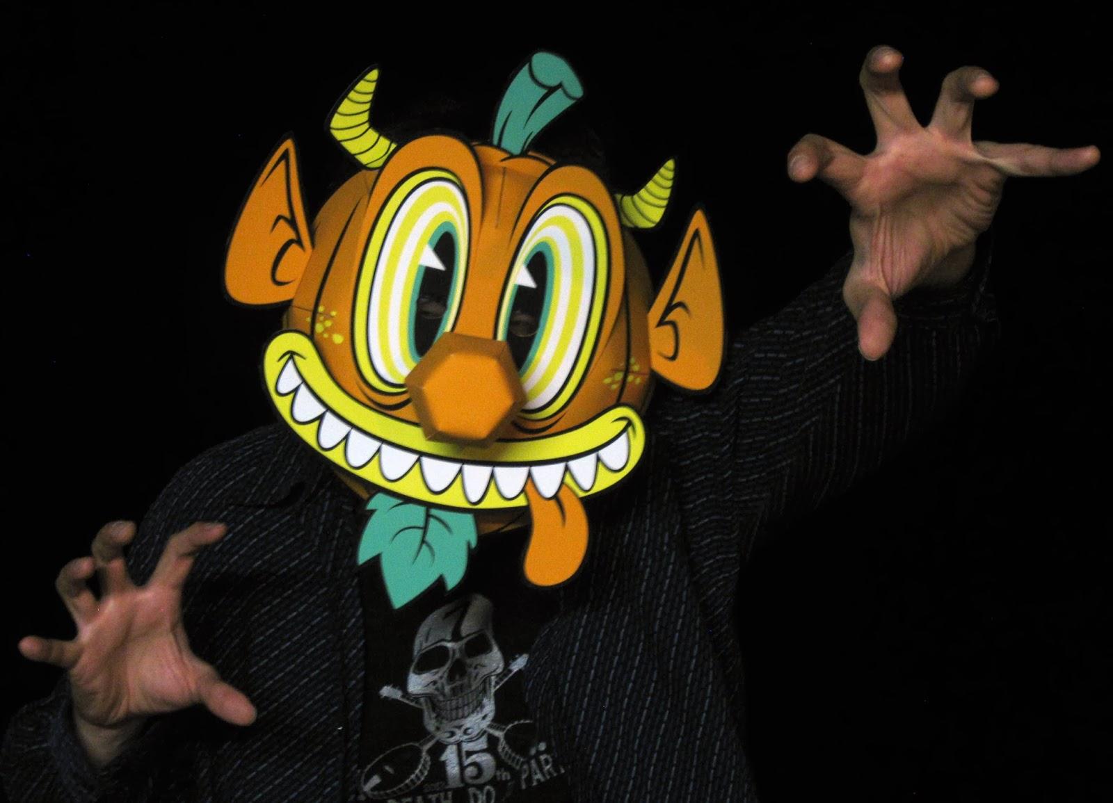 Jack O' Goblin Papercraft Mask