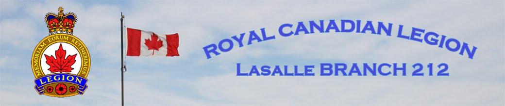 Royal Canadian Legion Lasalle Branch 212