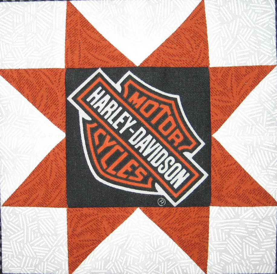 Quilt to the Edge....: Debriefing the Boxer-Another Harley ... : harley davidson quilting fabric - Adamdwight.com
