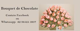Quer dar um presente chique  para alguém em GOIÂNIA? Dê um Bouquet de Chocolate.
