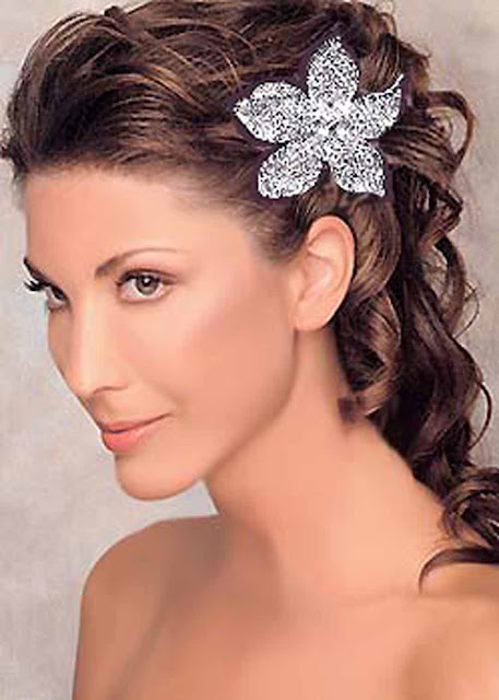 Bridal Hairstyles 2011 modern bridal hair style the most gracefulbeautiful and charming
