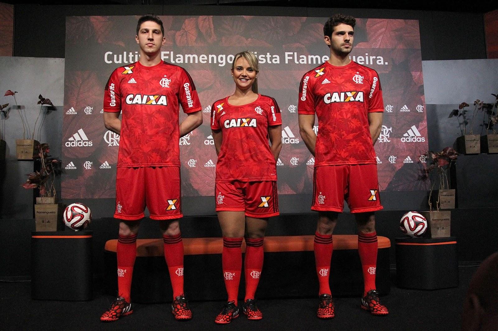 a3844b5dad Flamengo e Adidas lançam terceira camisa com estampa em homenagem à flora  brasileira