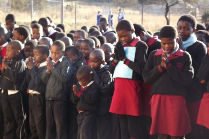 Isandlwana Primary Morning Prayer