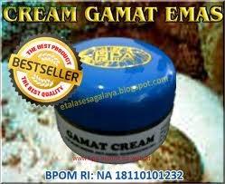 Cream Gamat Emas HPA, Cream malam alami terbaik, bebas Merkuri berBPOM