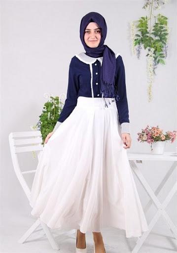Trend Model Rok Panjang Untuk Hijab Terbaru 2017/2018