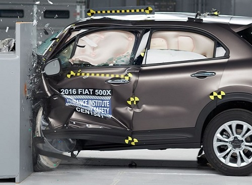 2016 Fiat 500X IIHS Crash Test
