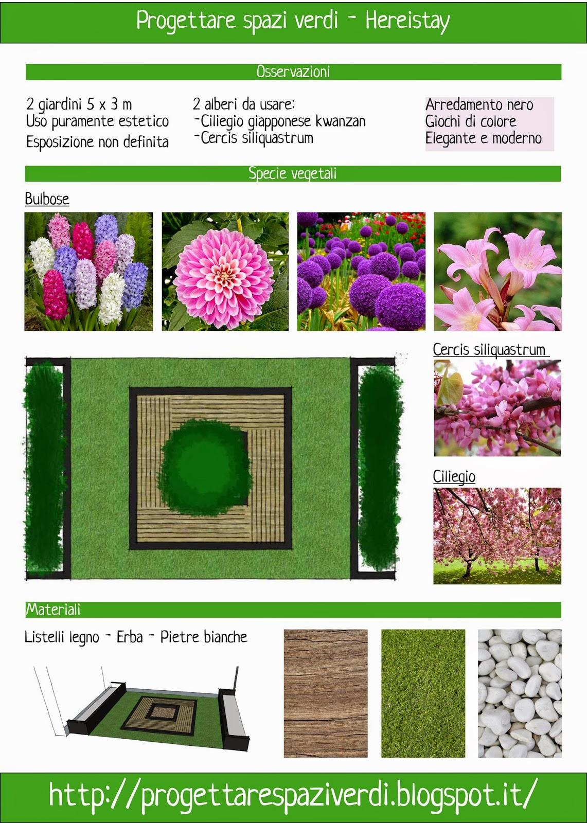 Progettare spazi verdi piccolo giardino partendo da zero for Progettare spazi verdi