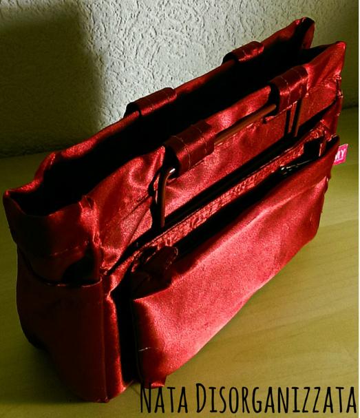 organizzare borsa con bag organizer
